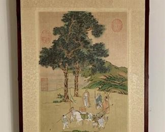 Asian scene on silk https://ctbids.com/#!/description/share/232079
