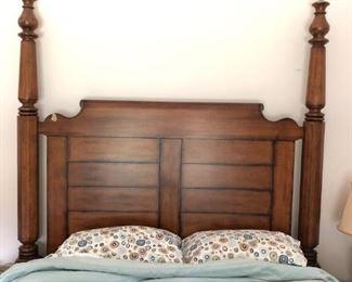 L & JG  Stickley Queen Bed Frame