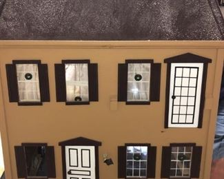 front view doll house