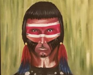 Native American Original Art