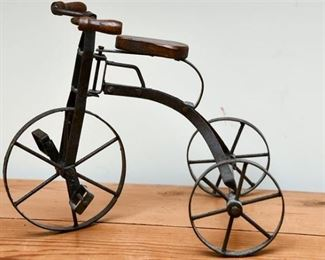 6. Antique Style Childrens Tricycle Decor Accent