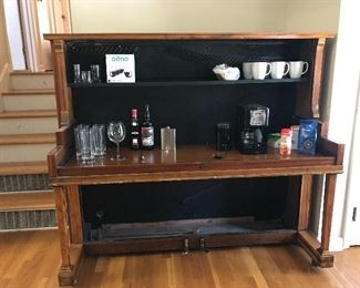#1 Unique Piano Bar/Desk/Coffee Bar $40
