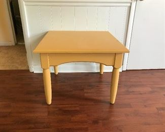 #8 Square Side Table $25