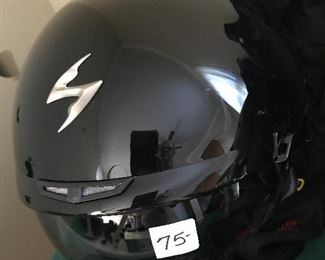 #24 Scorpion EXO Motorcycle Helmet $75 Size Small New