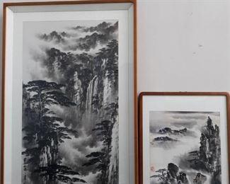 Asian Print Landscape