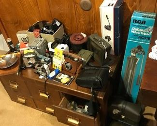 Some of camera equipment priced to sell
