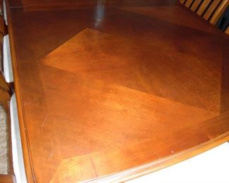 Close-up of table top