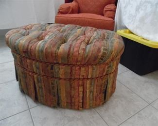 Large Ottoman, used as coffee table
