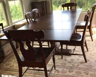 Dining Room Table and Chairs     https://ctbids.com/#!/description/share/231904
