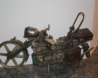 Motorcycle Sculpture