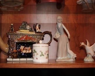 Lladro and other Decorative