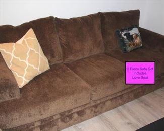 2 Piece Sofa Sset