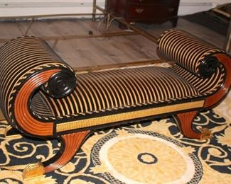 Really Cool Bench and Rug