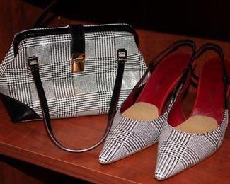 Shoes and Matching Handbag