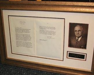 Harry Truman Ephemera