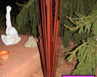 3 ft Tall Outdoor Metal Sculpture
