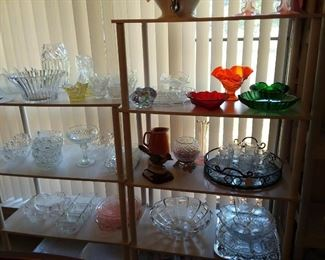 Crystal dishes & more