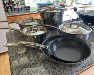 MIU France pots and pans
