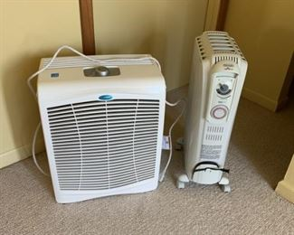 Air Purifier and heater