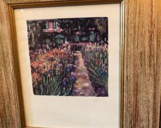 Signed Elizabeth Murray Original Artwork