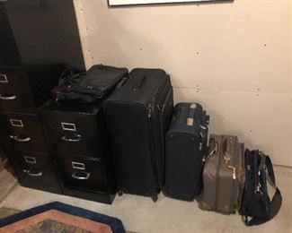 File Cabinets; Luggage