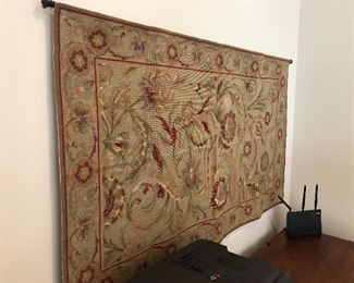 100% Wool Aubusson Chinese Rug 3' x 5'; Rod Not Included
