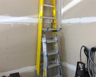 8' Werner Ladder; Toprung Ladder