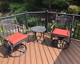 Cast Metal Patio Furniture
