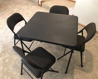 Cosco Folding Table w/ 4 Chairs