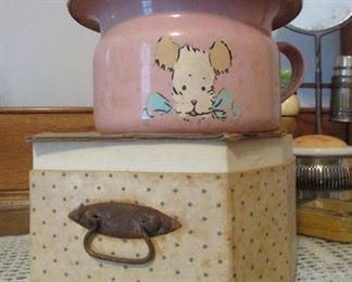 child's potty in original box