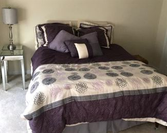 nice purple and lavender bedding