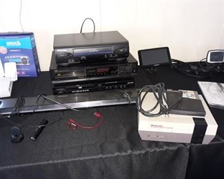 Nintendo Game Console, DVD Players, Sound Bar
