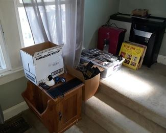 CDs and DVDs, Paper Shredders, End Table