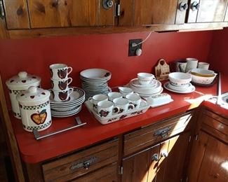 Dishes and Canisters