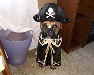 Pirate Boxer Statue