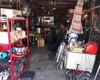 Garage!! Outdoor Goodies