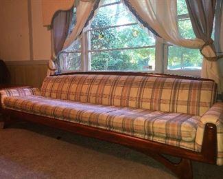 long shot of said sofa