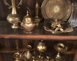 Brass and silver wares for bargaining with pirates