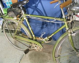 Raleigh Superbe Bicycle 1970s- with dymo - original owner  Schwinn Breeze Deluxe 1970s- two speed - original owner