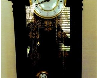 Strasbourg manor wall clock with Westminster chimes