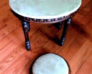 Antique footstools