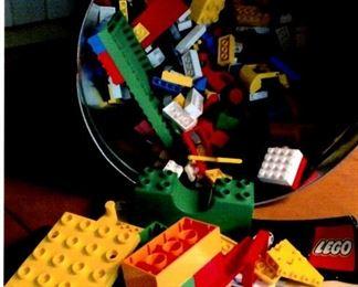 Box of loose Legos