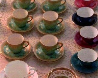 15 bone china tea cups