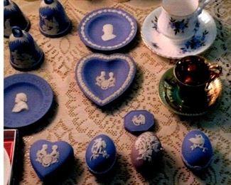 Wedgwood, tea  cups, bells, Hummel's