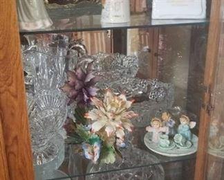 Mini Tea sets, Crystal decor and figurines