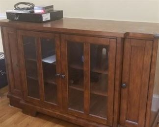 Beautiful High End TV and Electronics Cabinet