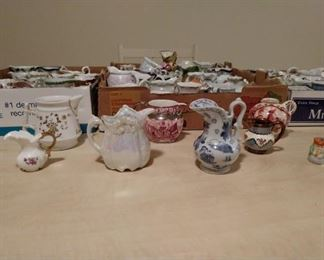 China Cream Pitcher Collection