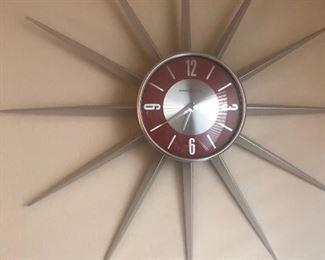 Howard Miller Starburst clock