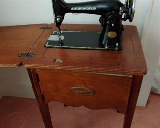 Old Sewmor Cabinet Sewing Machine