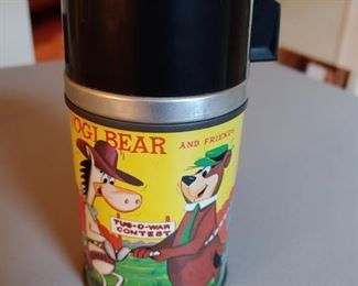 Yogi Bear and Friends Thermos